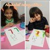 Evening shift letter recognition activity